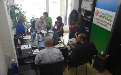 Reunión Plataforma Khetane – Roma Initiatives Office de la Open Society