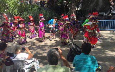 La Plataforma Khetane participa en las Fiestas de la Melonera, en el distrito de Arganzuela de Madrid