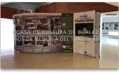 """La exposición """"Ríos de Memoria"""" estará en Burlada (Navarra) del 13 al 25 de Abril"""