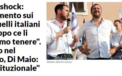 El ministro del interior italiano, Matteo Salvini, quiere hacer un censo de gitanos en Italia antes de expulsarlos