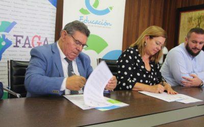 Ayuntamiento y FAGA renuevan por séptimo curso consecutivo el programa de refuerzo educativo Edukalo