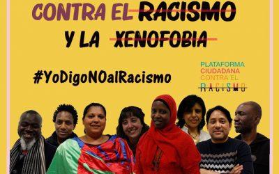 Se hace público el manifiesto por el Día Internacional contra el Racismo y la Xenofobia en Aragón