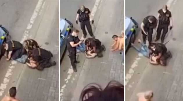 Un hombre gitano muere después de que la policía checa se arrodille sobre su cuello, dicen que las drogas causaron su muerte. Los activistas Rromanies ven paralelismos con George Floyd