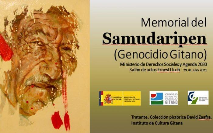 Se ha realizado un año más el Acto Memorial Samudaripen 2021